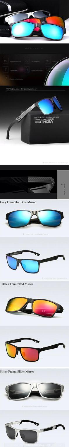 6237aca8c75 nice Men s sunglasses Aluminum magnesium dazzle colour polariscope Fishing  driver driving mirror 6560