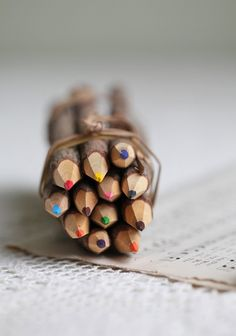 Wooden Colored Pencils At ShopRuche.com