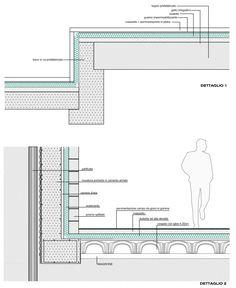 Coperture piane dwg particolari pinterest disegni for Archweb uffici