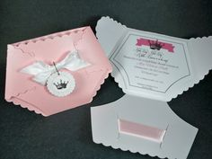 Little Princess Baby Shower Invitation by TinyInvites on Etsy