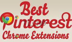 A great review of 15 best Pinterest Google extensions   #plugin #chrome #pinterest