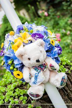 Lumanare botez - Helen's Art Bag: Botez Rafael Baptism Candle, Art Bag, Christening, Teddy Bear, Candles, Weeding, Toys, Children, Floral