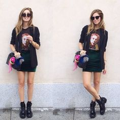 Velvet Pencil Skirt   Spotted on @chiaraferragni, How would you style this? http://keep.com/velvet-pencil-skirt-spotted-on-chiaraferragni-by-asseenoninstagram/k/2gdPm4ABLd/