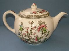 1950s Johnson Bros Indian Tree Teapot Made in by BiminiCricket