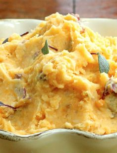 Sweet & Red Potato Mash with Celery Root