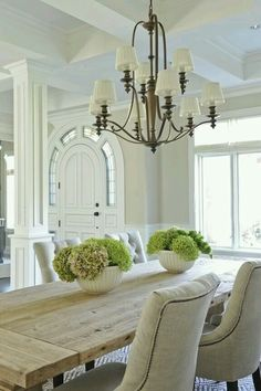 Teak Dining Table, Modern Dining Chairs, Dining Room Chandeliers, Traditional  Dining Rooms, Columns, Carpet Part 96