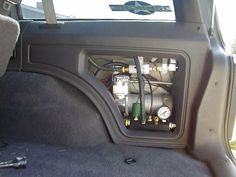 Air compressor inside the cab and plumbed outside. #Bestaircompressor #Compressor