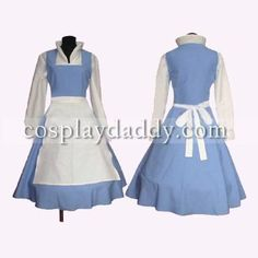 Amazon.com: Beauty and The Beast Belle Cosplay Cosplay Japanese Anime Cosplay Custume Made Customized Any Size: Toys & Games