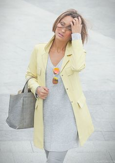 shades of grey outfit on GalantGirl.com