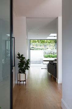 Beautiful timber floors lead from the oversize front door to the back garden. Light open feel still warm and inviting Living Area, Living Spaces, Open Fires, Timber Flooring, Back Gardens, Beautiful Lights, Joinery, Home Renovation, Cottage Style