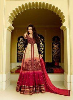Lehenga Style Anarkali Dress