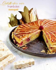 Galette des rois framboise nougat         :          Il était une fois la pâtisserie