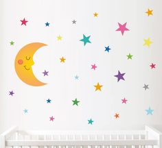 Si quieres decorar la habitación del bebé con un estilo original y único te proponemosque eches un vistazo a la firma de vinilos infantiles StarStick. Una tienda onlinededicada a la venta de vinilos de pared con diseños exclusivos, ideales para dar untoque especial a las habitaciones infantiles. Los diseños son muy variados, convinilos infantiles para … Baby Room Paintings, Nursery Decor, Wall Decor, Wall Stickers, Hello Kitty, Kids Room, Bed, Handmade, Design