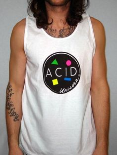 Maui-Wowie Acid VacationGraphic Tank Top | Acid Unicorn® Clothing Store  $30