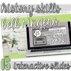 This resource is a growing bundle. As I add to the bundle, the price of this resource will increase. The focus of this bundle is United States history.This resource includes 15 bell-ringers focusing on historical thinking skills (simple review activities to more complex activities). Student completi...