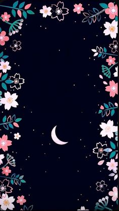 Fondo luna Wallpaper by LukasCAI - 05 - Free on ZEDGE™ now. Browse millions of popular flores Wallpapers and Ringtones on Zedge and personalize your phone to suit you. Browse our content now and free your phone Iphone 6 Wallpaper Backgrounds, Flower Phone Wallpaper, Wallpaper Space, Kawaii Wallpaper, Tumblr Wallpaper, Love Wallpaper, Cellphone Wallpaper, Disney Wallpaper, Galaxy Wallpaper