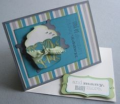 Dotty for You easel card using Art Philosophy and Close To My Heart stamps