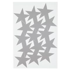 Shop Star Bright Decal (Silver).  Sadly, our Star Bright Decals don't grant wishes.  Unless your wish is to have a set of 15 charming star decals to stick on your wall.  Then it totally does.