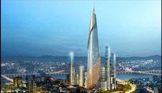 The Yongsan Landmark Tower by Renzo Piano