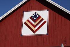 patriotic barn quilt