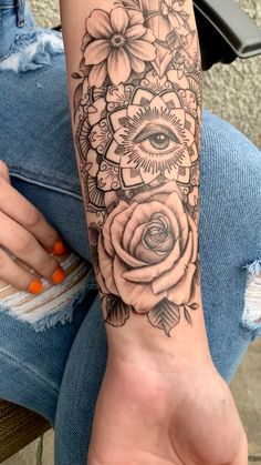 Arm Sleeve Tattoos For Women, Cover Up Tattoos For Women, Dope Tattoos For Women, Quarter Sleeve Tattoos, Leg Sleeve Tattoo, Shoulder Tattoos For Women, Girl Tattoo Sleeves, Forearm Tattoos For Women, Female Tattoo Sleeve
