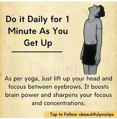 Gym Workout Tips, Fitness Workout For Women, Yoga Fitness, Health And Fitness Articles, Health Fitness, Yoga Facts, 5am Club, Yoga Mantras, Face Yoga