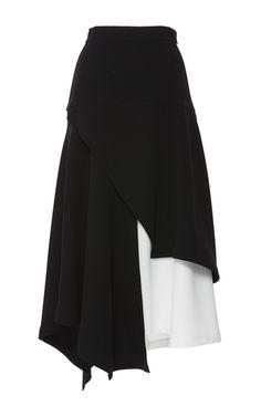Contrast Asymmetric Skirt by J.W. Anderson | Moda Operandi