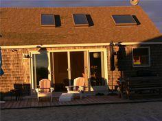 Truro summer beach vacation rental condo in Cape Cod. Cape Cod Vacation Rentals, Cape Cod Ma, Truro, Beach Chairs, Summer Beach, Canopy, Beach House, Condo, Cottage