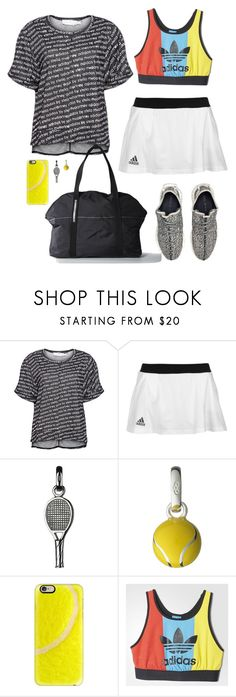 """""""Adidas Action"""" by lmello ❤ liked on Polyvore featuring adidas, Links of London and Casetify"""