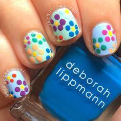 Lacquered Lover: Deborah Lippmann Spring Summer 2014 Flower Nail Art!