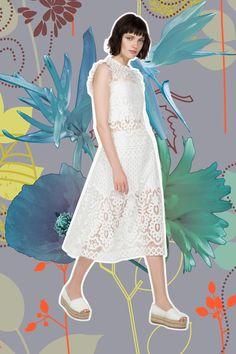 New romantic dress #shopbylook #imperialfashion #Summer2016
