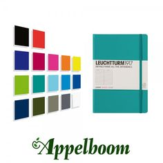 The Leuchtturm1917 notebooks contains of 249 pages made of acid free 80gr paper. The medium notebook of Leuchtturm1917 measures 14.5x21cm and comes in ruled, graph, dotted and plain paper.