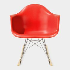 Eames® Molded Plastic Armchair with Rocking Base (RAR)  Charles & Ray Eames, 1948
