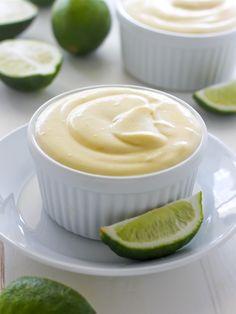 Creamy Key Lime Pudding