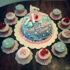 #cake #cakedecorating #fondant #angelina #ballerina