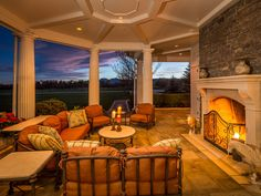 Warm and cozy fireplace #design in Longmont, Colorado, United States. Priced at USD 24,200,000. View more #luxury homes on homeadverts.com