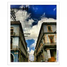 Vanishing Point. Near Partagás, Havana