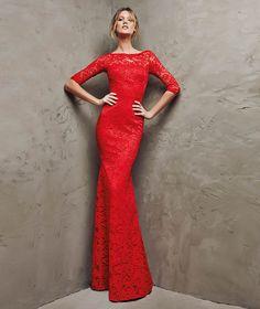 Una silueta entallada gracias a vestidos como éste, donde la sensualidad se hace visible