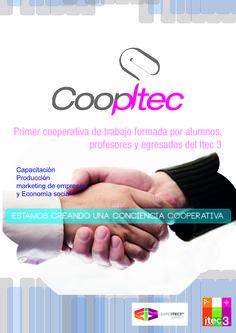 Cartel para presentar la cooperativa