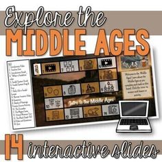 This Intro to the Middle Ages Unit interactive Google slides resource includes 14 mini-lessons, activities, and videos final project (design a manor), quiz, and more! This resource includes lessons and activities focusing on the following topics: Feudalism, The Battle of Hastings, the Crusades, the ...