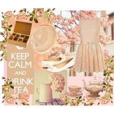 Keep calm and drink tea.. Steph :)