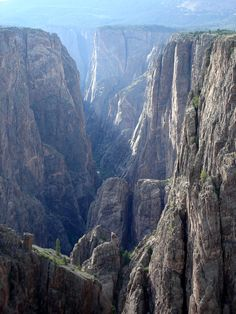 Black Canyon of the Gunnison National Park, Colorado.