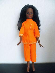 Italocremona Corinne black clone doll, een zeer zeldzame pop!!