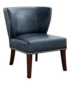Take a look at this Denim Blue Jamestown Accent Chair today!
