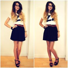 Zoella is my style icon Zoella Outfits, Cute Outfits, Zooey Deschanel, American Apparel Rock, Zoella Style, Cabello Zayn Malik, Zoella Beauty, Zoe Sugg, Simple Style