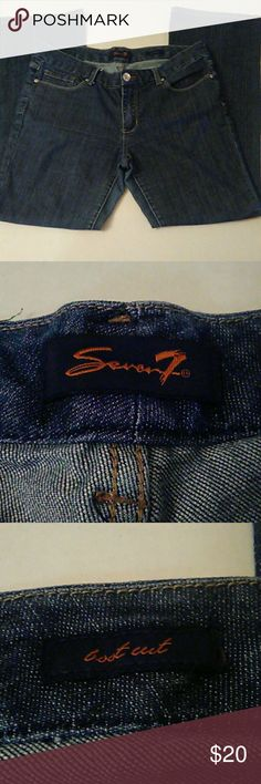 SEVEN7  BOOT CUT JEANS  SIZE 14 *LIKE NEW* Size 14 boot cut seven jeans Seven7 Jeans Boot Cut