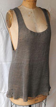 Knitting Patterns Vest Ravelry: Janna& Tunic pattern by Grace Akhrem Knit Vest Pattern, Knitting Patterns, Knitting Yarn, Crochet Woman, Knit Crochet, Ravelry, Mode Plus, Summer Knitting, How To Purl Knit