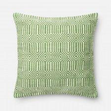 Anissa Indoor/Outdoor Pillow, Green