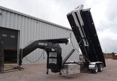 Cl302dgn20 - trailer 2 axles goose neck dual - 30k capacity - 20-foot