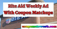Rite Aid Weekly Ad and Coupon Deals: Week 1/8 to 1/14/17 - https://couponsdowork.com/rite-aid-weekly-ad/rite-aid-weekly-ad-and-coupon-deals-week-18-to-11417/